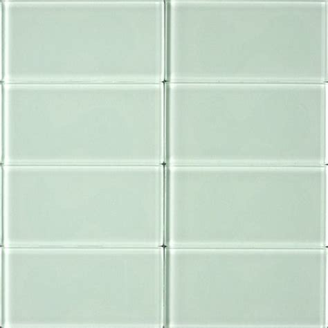 olympia cristallo glass tile 3 quot x 6 quot bottle green od