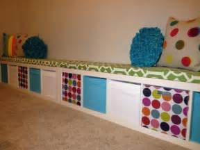 ikea playroom ideas ikea expedit turned playroom storage bench playroom