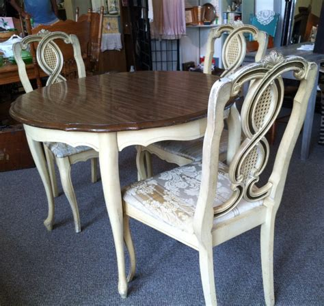 french provincial dining room set  paint  order