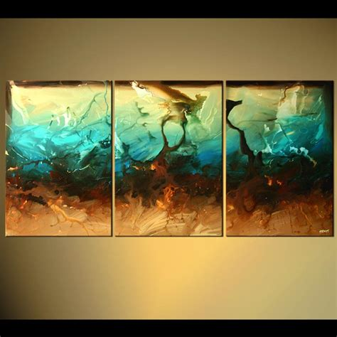 abstract paintings for living room abstract painting large living room decor triptych mockingbird 5113
