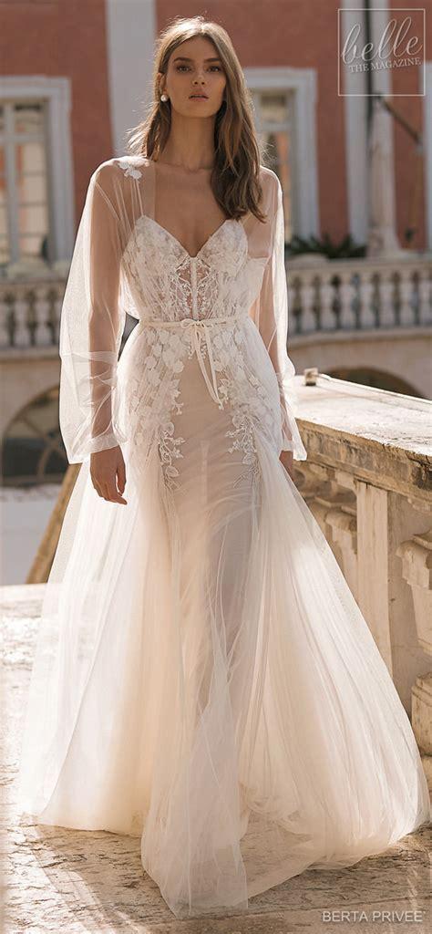 BERTA PRIVEÉ 2019 Wedding Dress Collection   Belle The