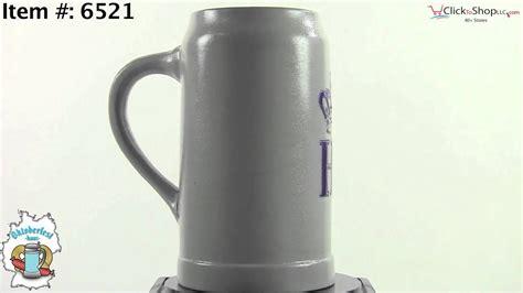 1 Liter Hofbrauhaus Ceramic Stein W Hb Logo