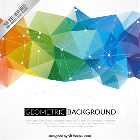 design geometric definition green polygons abstract background vectors photos and psd