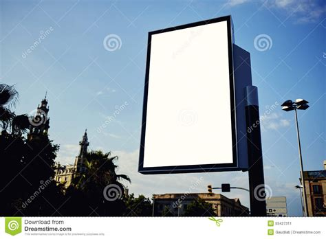 vinyl banner templates for photoshop roadside advertising royalty free stock photo