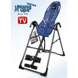 teeter ep 560 inversion table extension machine for back