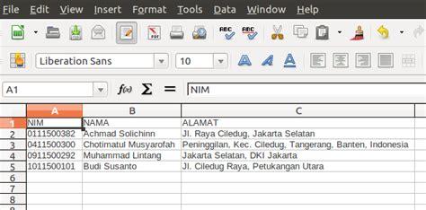 membuat database excel 2013 bagaimana membuat laporan excel dengan php