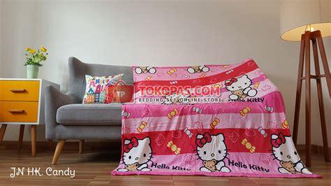 Selimut Bulu Michiki Hello 150x200 selimut bulu tokopas