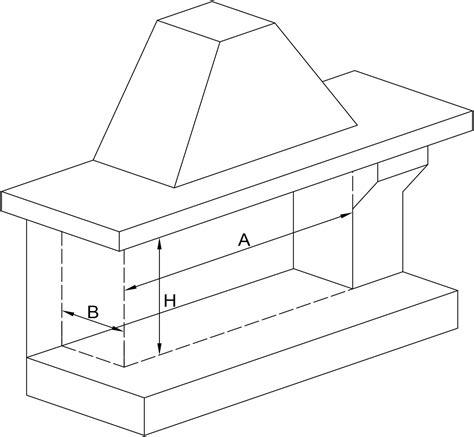 dimensionamento camino tabelle dimensionali zinco s p a