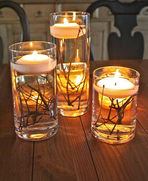 Vases With Floating Candles by Bringing The Outdoors In The Family Ceo