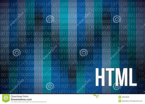 html abstract  blue background digital tech stock