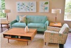 catala aqua loveseat king ranch home decor pinterest mid century house 1950s bedroom and bedroom decor on