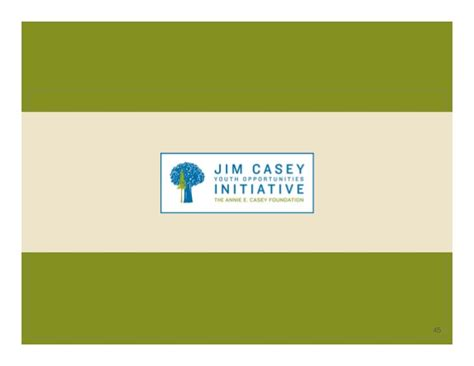 E Casey Foundation Post Mba Career Description by Developing And Implementing A Model Extended Foster Care
