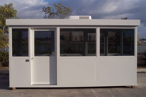 Service Writer by Service Writer Booths Guard Booth Guard Booths Security Booths Prefab Guard Shack