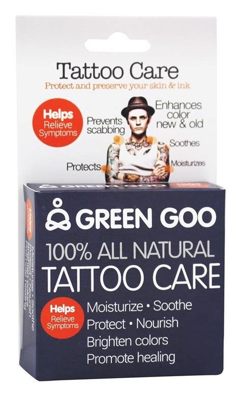 tattoo goo in malaysia buy green goo all natural tattoo care 1 82 oz at