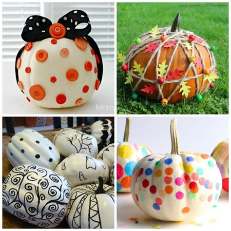 How To Decorate A Pumpkin Without Carving by 21 Ways For To Decorate Pumpkins Without Carving