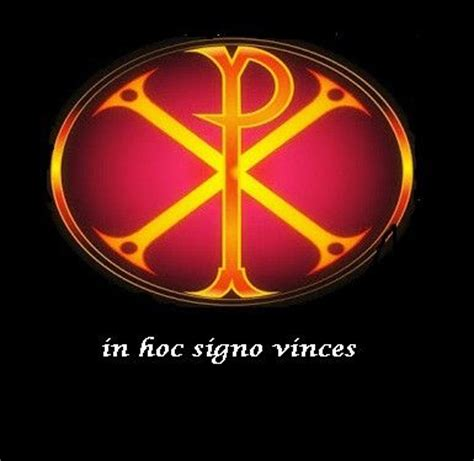 in hoc signo vinces tattoo 17 best images about chi rho on