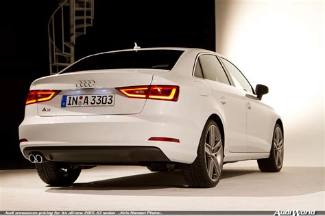 Preview 2015 Audi A3 Sedan Brings A8 Features To Entry Level A3 The Fast Car Audi Announces Pricing For Its All New 2015 A3 Sedan Audiworld