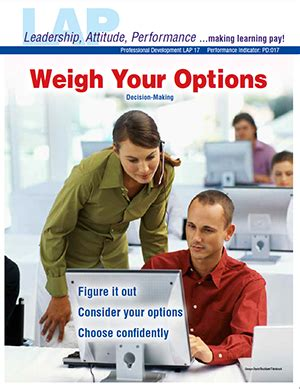 Mba Research Learning Center Login by Mba Research Pd 017 Weigh Your Options Decision