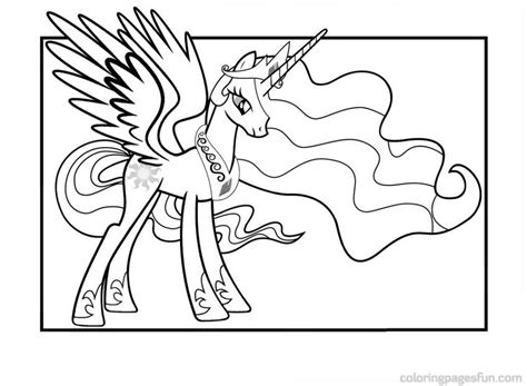 coloring pages princess celestia celestia as a filly coloring pages coloring pages