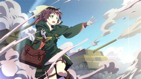 anime war anime girls hair bows green eyes war wallpaper anime