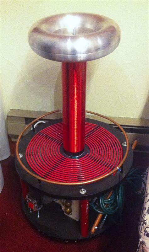 How To Build A Tesla Coil Step By Step File Tesla Coil Closeup Jpg Wikimedia Commons