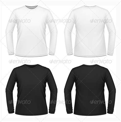 Buy Long Sleeve T Shirt Template Psd 51 Off Sleeve Shirt Template Psd