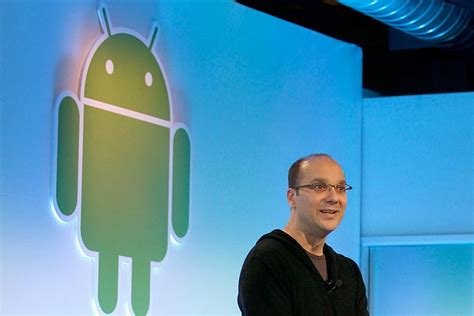 android founder android co founder andy rubin working on a premium bezel less smartphone
