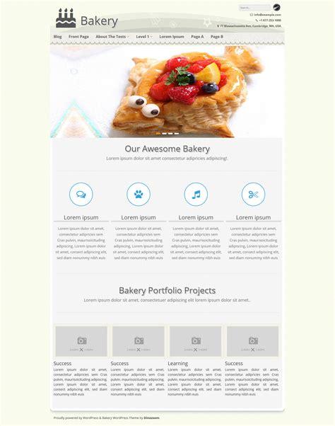Blogger Themes Bakery | bakery wordpress theme for bakeries food bloggers