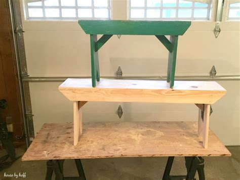 board bench diy five board bench house by hoff