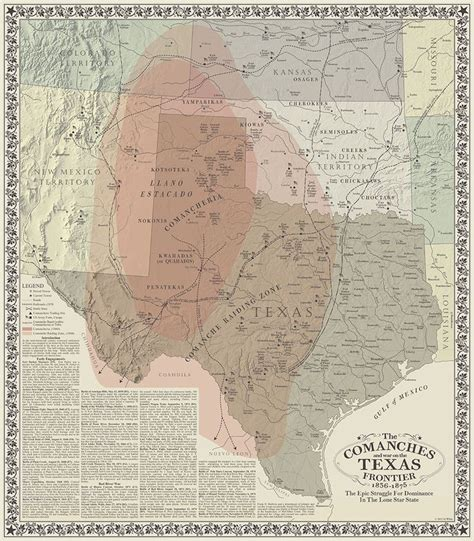 texas indians map 78 best images about comanches and texas on indian tribes and