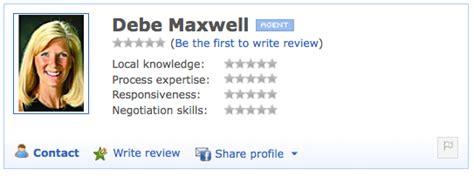 zillows  agent rating  endorsement tool