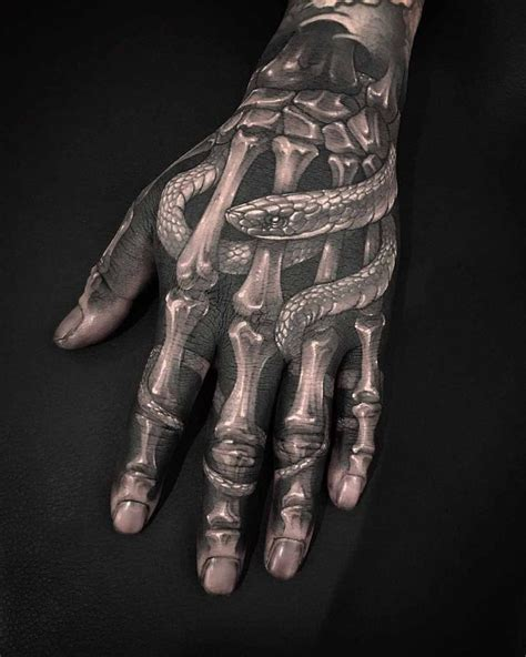 bone hand tattoo best 25 skeleton ideas on