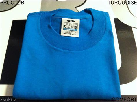 pro club comfort t shirts 1 new proclub comfort plain t shirt blank turquoise tee