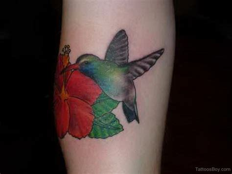 hummingbird and rose tattoo tattoos designs pictures