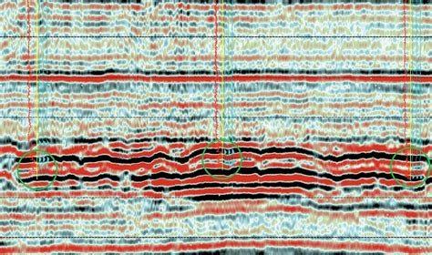 seismic section accurate stratigraphic prediction from seismic cseg recorder