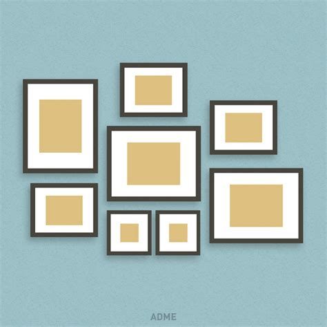 different picture frames six original ideas for hanging picture frames at home