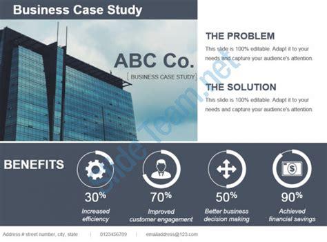 Business Case Study Template Ppt Template Presentation Sle Of Ppt Presentation Study Powerpoint Presentation Template