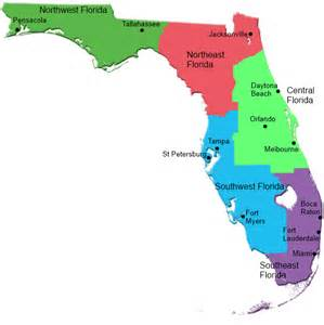 florida colleges map colleges and universities map of colleges and