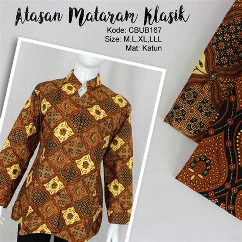 Promo Blus Batik Astri Bisa Untuk Seragam Murah Awet Gaul Ke blus batik panjang katun motif klasik blus lengan panjang murah batikunik