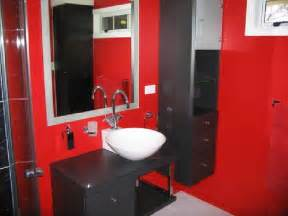 bathroom black red white: red black and white bathroom idea car tuning