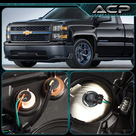 2014 chevy silverado light replacement 2014 2015 chevy silverado 1500 replacement headlight l