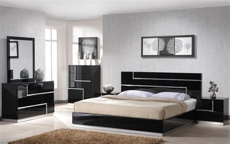 black lacquer bedroom set lucca black lacquer platform bedroom set from j m 17685 q