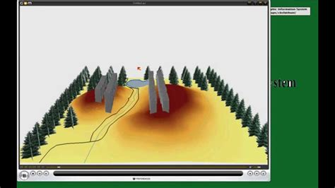 arcgis arcscene tutorial arcmap arcscene gis arcgis 10 tutorial animation youtube