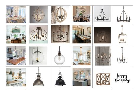 Kitchen Island Designs by Joanna S Favorite Light Fixtures For Fixer Upper Style