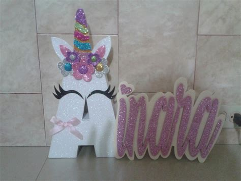 como decorar letras de madera de unicornio letra de unicornio para decorar pictures to pin on