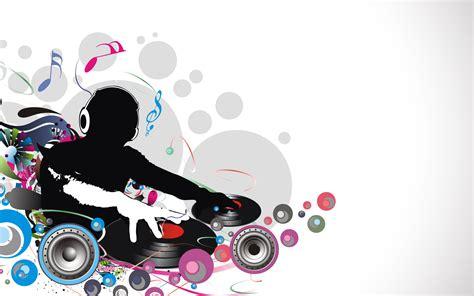 wallpaper design abstract music 音符イラスト djシルエット 無料のフリー素材