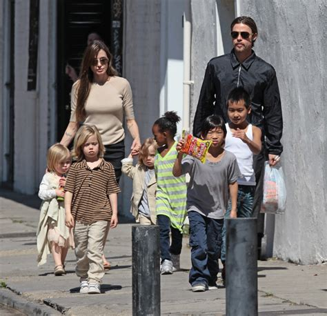 New Photo Of The Pitt Family by Murphy Gallery Brad Pitt Family 2011
