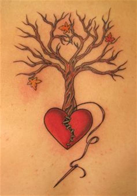 heart tree tattoo design 1000 ideas about broken on