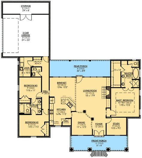 acadian floor plans acadian house plan with open floor plan 56397sm