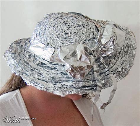 Aluminium Foil Hati h4h aluminum foil kentucky derby hat worth1000 contests